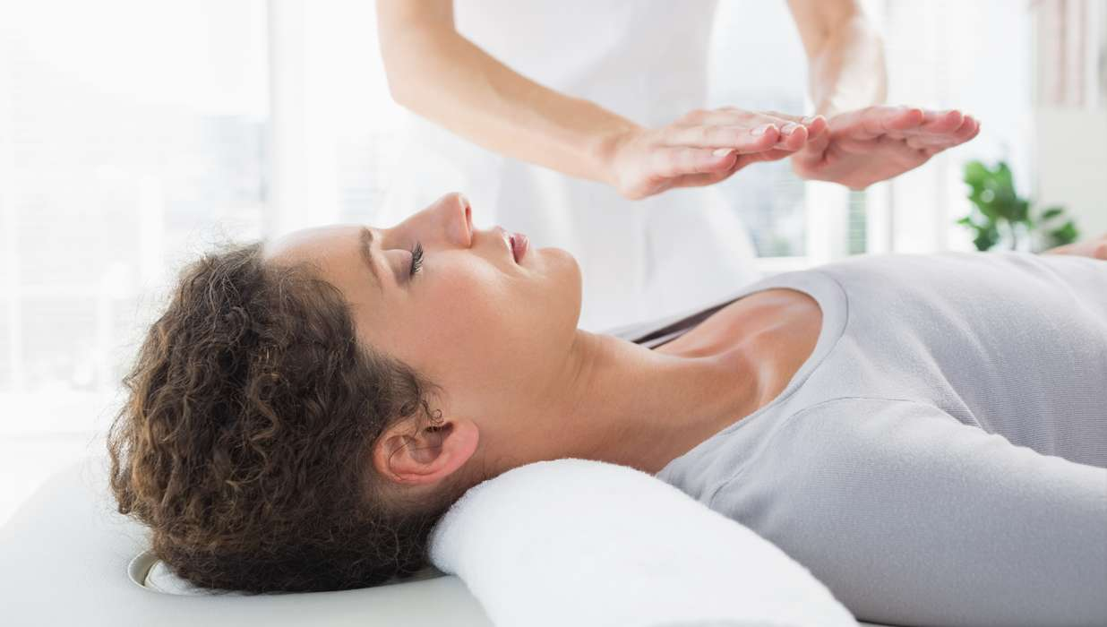 personalized reiki healing session